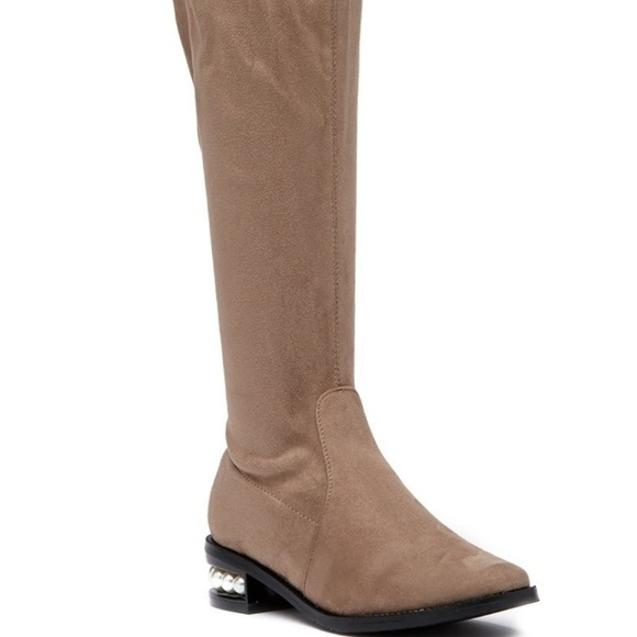 572e078d0a8 Catherine malandrino perse taupe over knee boots